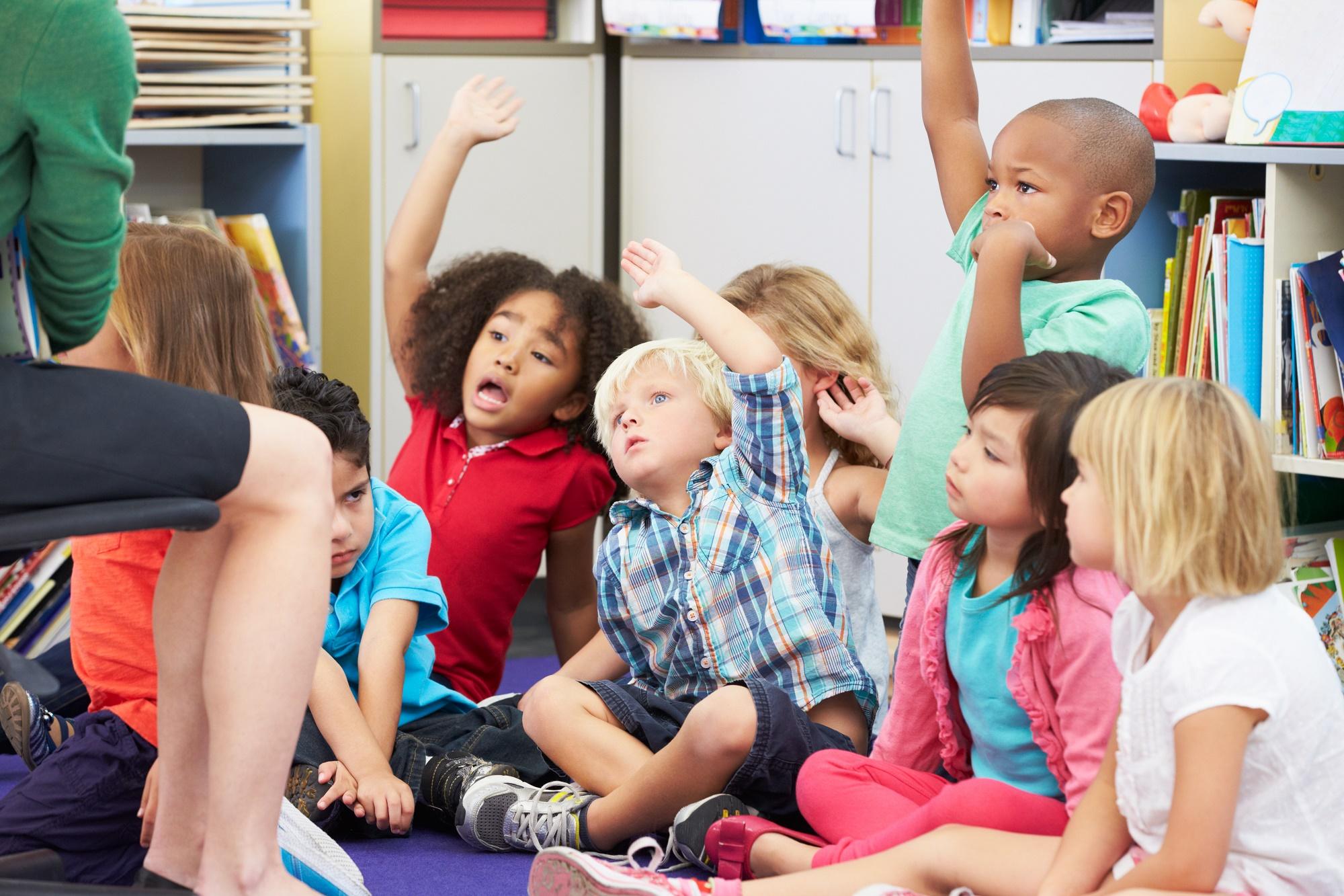rotina de pré-escola
