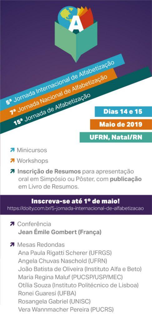 Jornada Internacional de Alfabetização