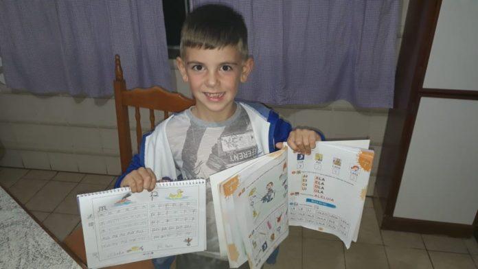 alfabetização das crianças
